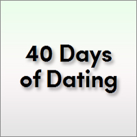 40 Days of Dating is a social experiment based in New York City with two young people named Jessica and Tim.