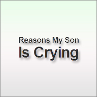 Reasons My Son Is Crying is a blog about all the many many completely logical reasons that children cry. If you are a parent, you are going to pee your pants…