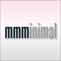 mmminimal is a blend of tasteful designs and articles based on the concept of minimalism.